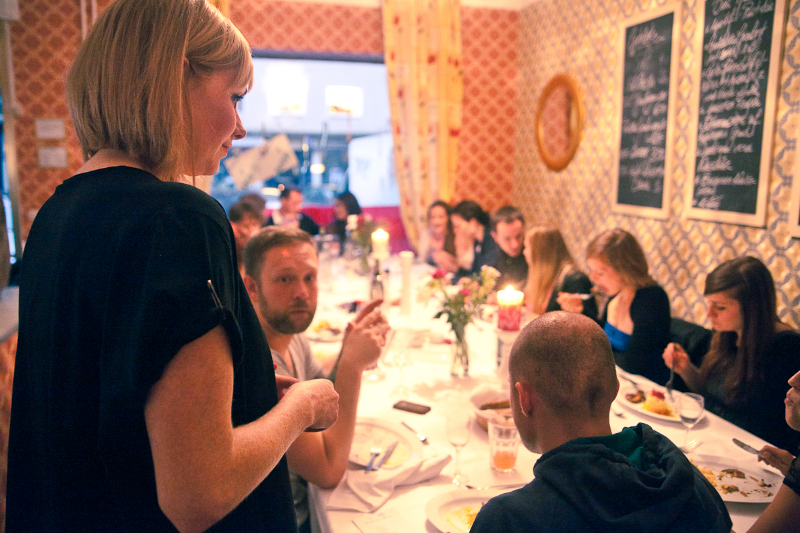 Felicia mit unseren Gästen